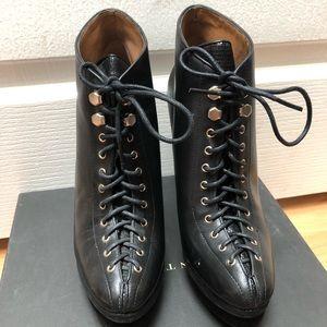 Women's Ann Taylor Aixa Laceup Platform Boots